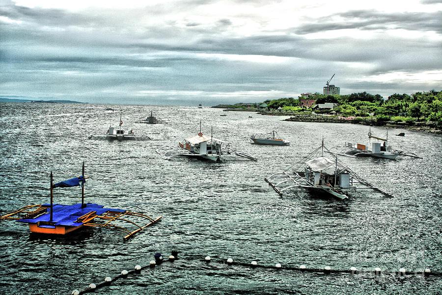 Island Photograph - Bay Of Mactan Island Philippines by Anita Antonia Nowack