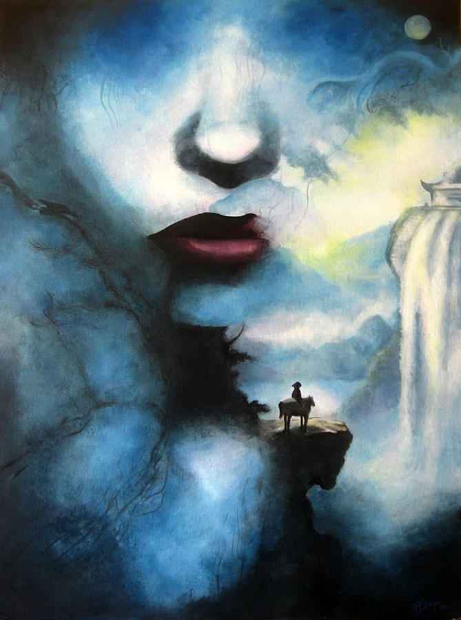 Surrealism Painting - Be Free by Andrea Banjac