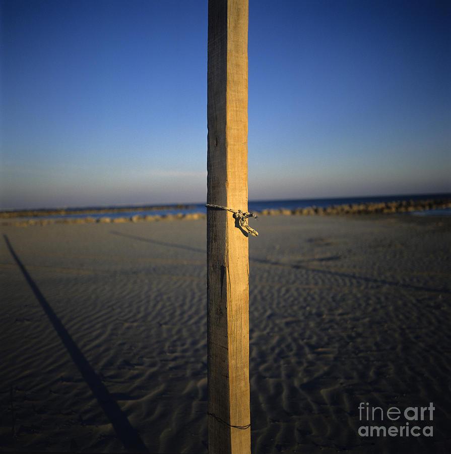 Bank Photograph - Beach by Bernard Jaubert