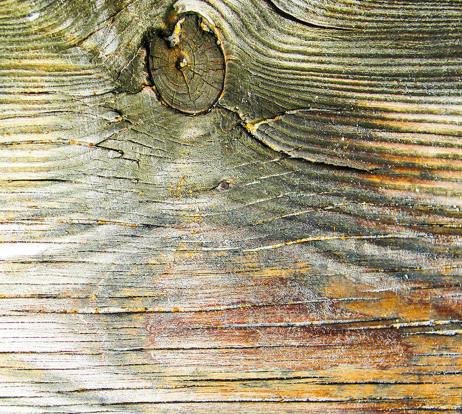 Wood Photograph - Beach Boardwalk Abstract by Christy Usilton
