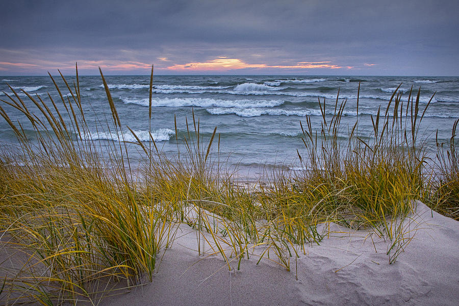 Beach By Holland Michigan No 0192 Photograph By Randall Nyhof
