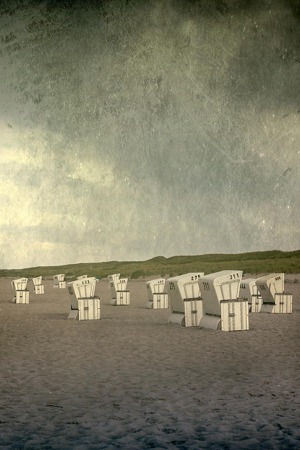 Beach Photograph - Beach Chairs by Joana Kruse
