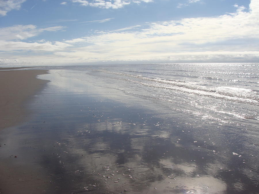 Beach Photograph - Beach Clouds by Emma Manners