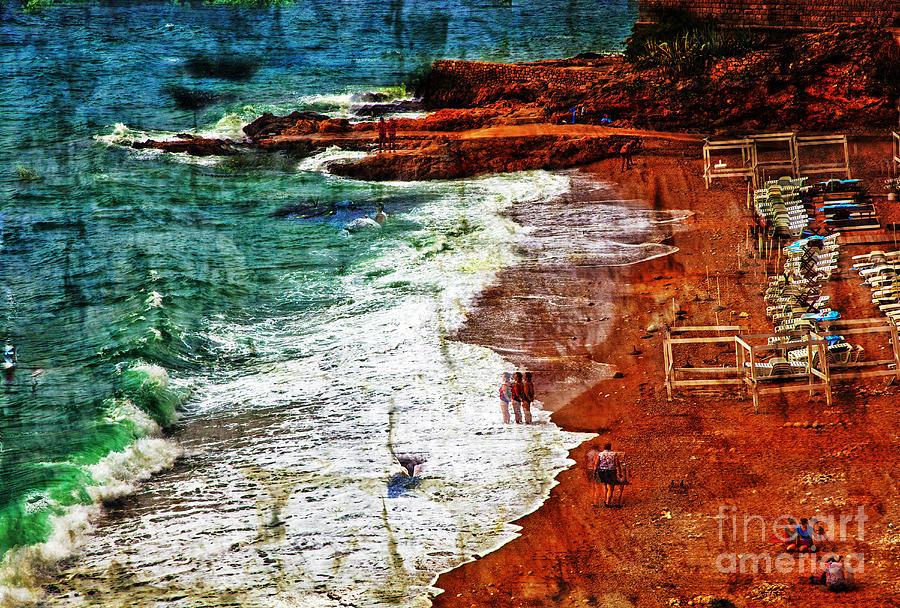 Beach Photograph - Beach Fantasy by Madeline Ellis