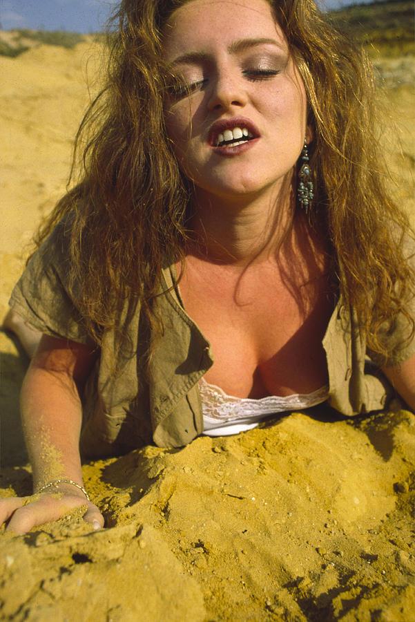 Beach Photograph - Beach Girl by Franz Roth