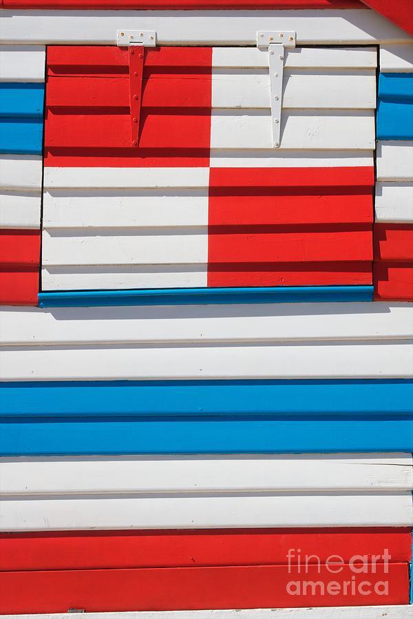 Sun Photograph - Beach House - Tricolore I by Hideaki Sakurai