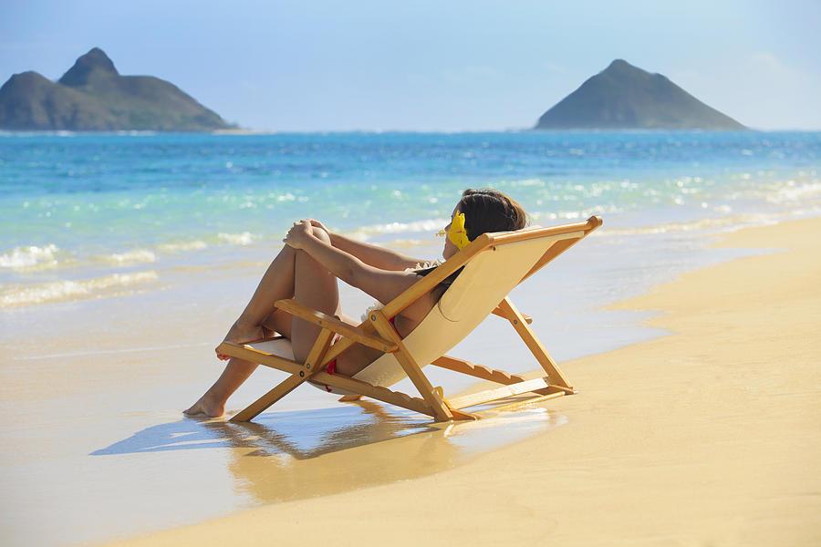 Attractive Photograph - Beach Lounger II by Tomas del Amo