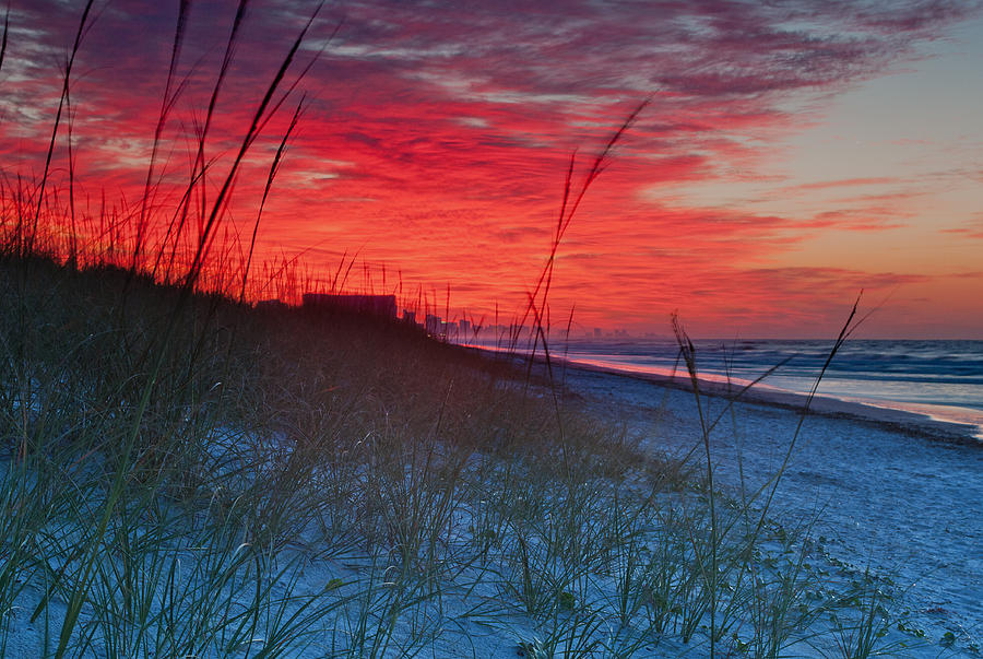 2x3 Photograph - Beach On Fire by At Lands End Photography