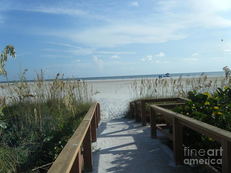 Beach Pyrography - Beach Serenity by Kaitlyn Roge
