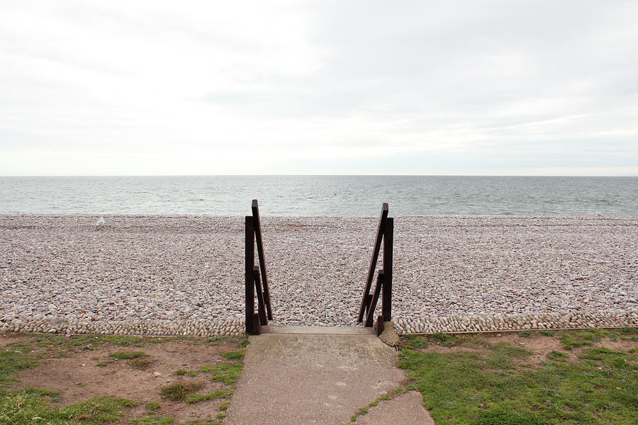 Horizontal Photograph - Beach Steps by Thenakedsnail