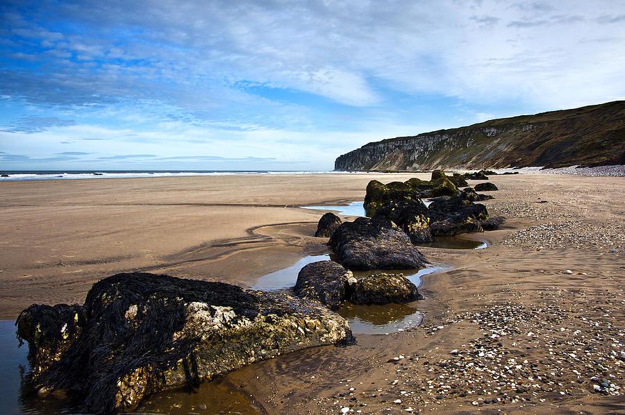 Bay Photograph - Beach Stones by Svetlana Sewell