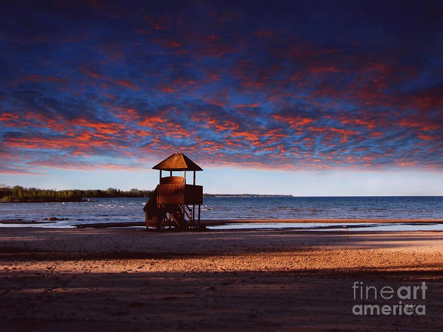 Landscape Photograph - Beach Sunset by Ms Judi