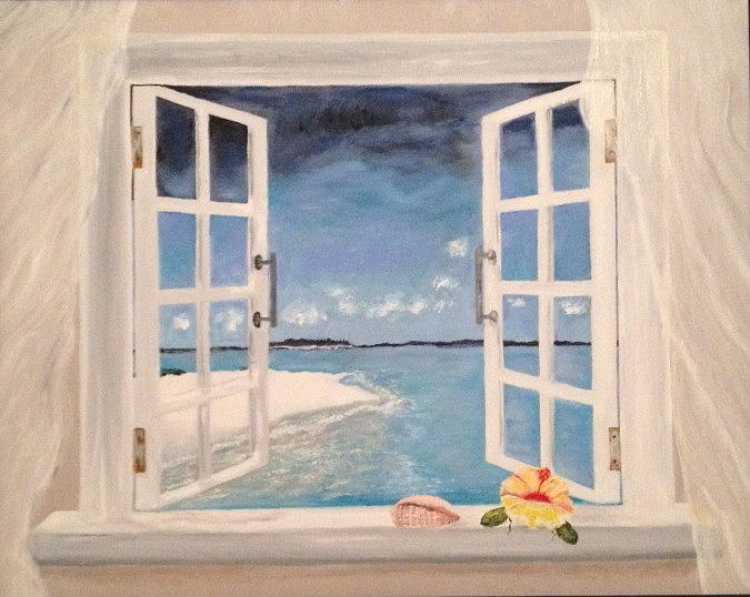 How To Paint A White Windows Fine Art