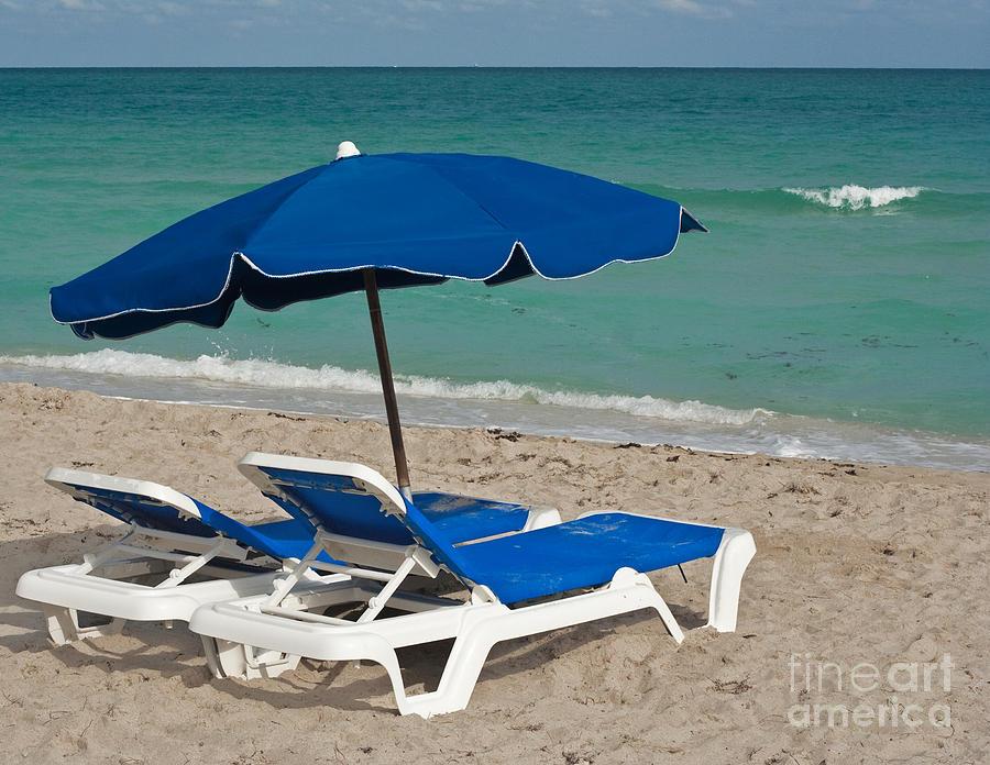 Florida Photograph - Beachtime by Barbara McMahon