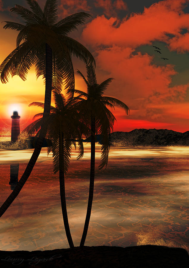 Lighthouse Photograph - Beacon Of Light by Lourry Legarde