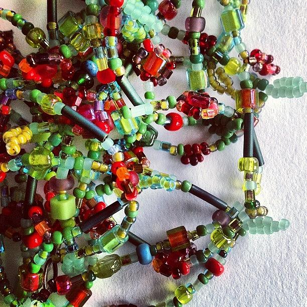 Beads Photograph - Beads by Nic Squirrell