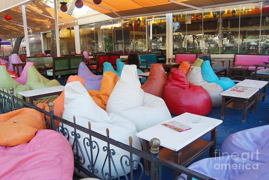 Swell Bean Bag Chairs In A Istanbal Cafe Creativecarmelina Interior Chair Design Creativecarmelinacom