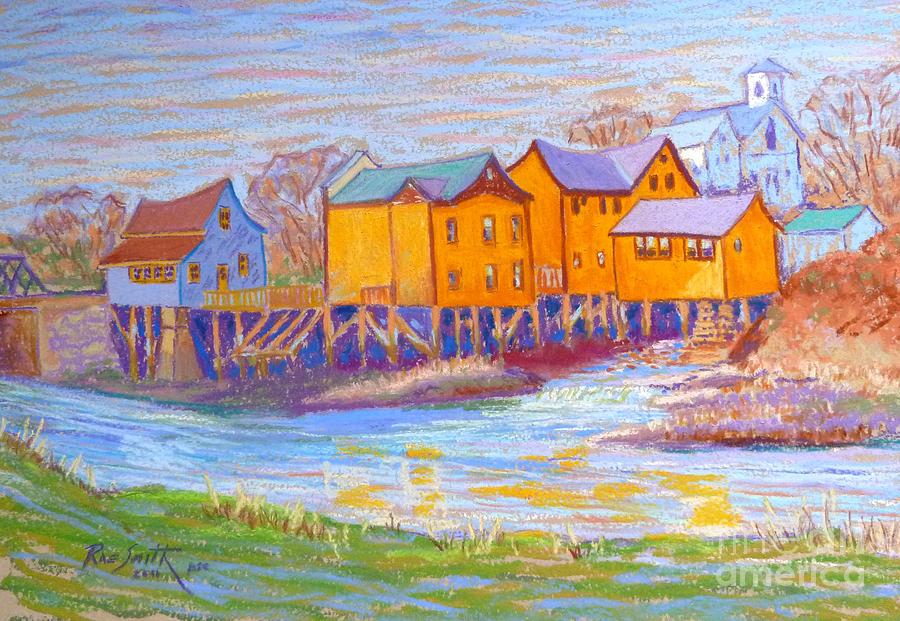 Bear River Nova Scotia Pastel By Rae Smith Psc