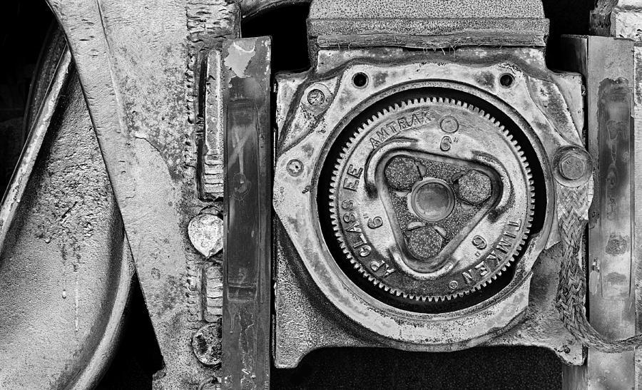 Black Photograph - Bearing The Weight by Donald Schwartz