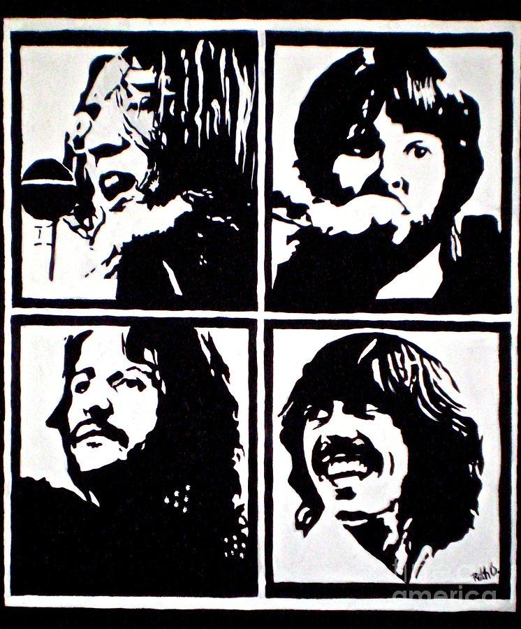Famous Beatles Paintings