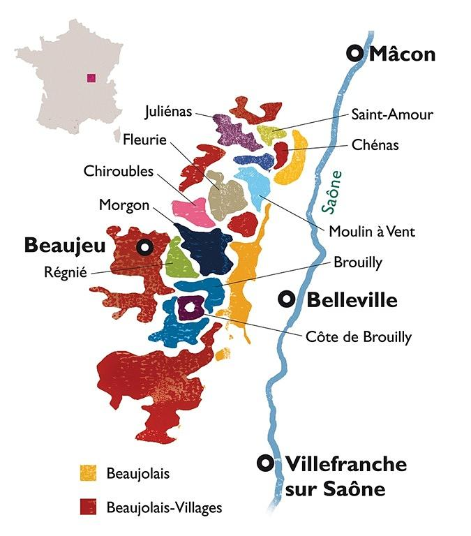 Wine Drawing - Beaujolais by None