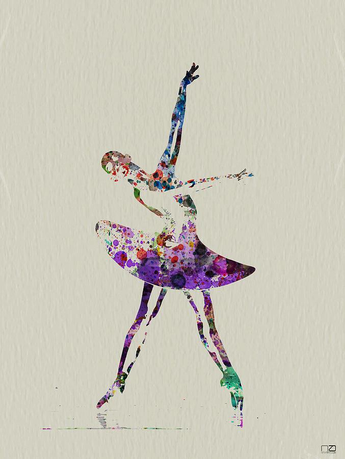 Beautiful Ballerina Painting By Naxart Studio