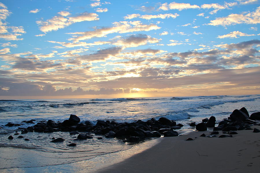 Beach Photograph - Beautiful Morning by Kimberly Davidson