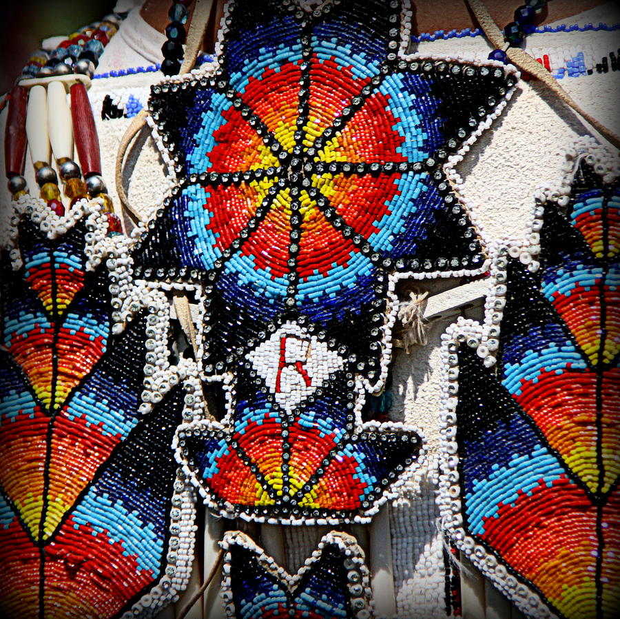Beautiful native american beadwork photograph by tam graff for Native crafts for sale