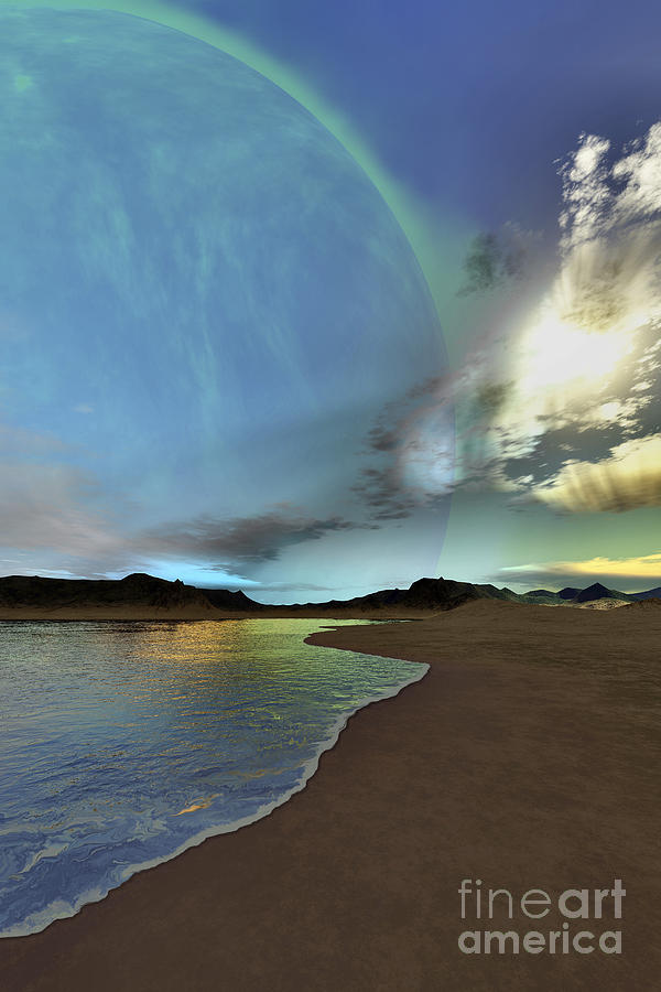 Light Digital Art - Beautiful Skies Shine Down On This by Corey Ford