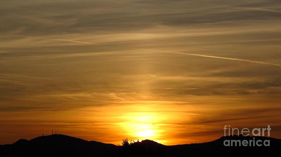 Beautiful Sunset 6.  2012 Photograph