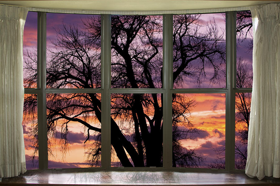 beautiful sunset bay window view photograph by james bo insogna rh pixels com