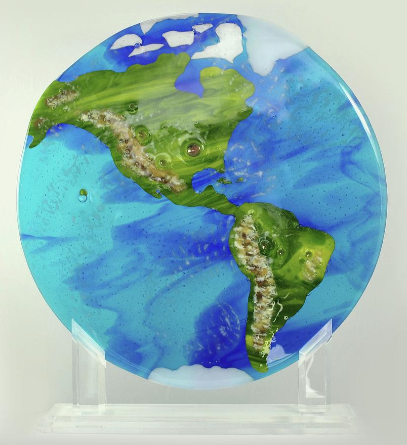 Earth Glass Art - Beauty By Nature by Michelle Ferry