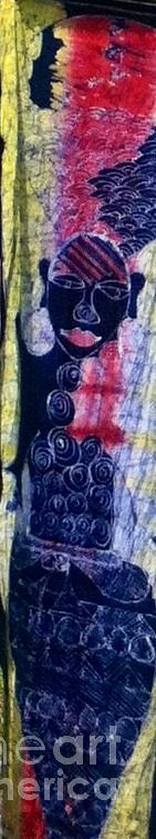 Tapestry - Textile - Beauty by Emmanuel Aderele