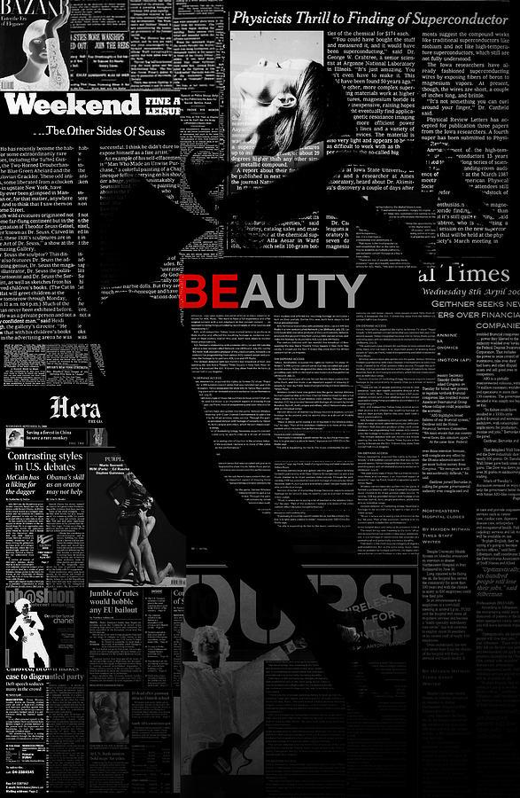 Romantic Photograph - Beauty by Naxart Studio