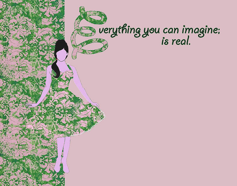 Stationary Digital Art - Beauty Notecard by Dana Vogel