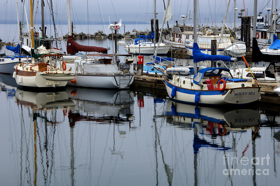 Fishing Boats Photograph - Beauty Of Boats by Bob Christopher