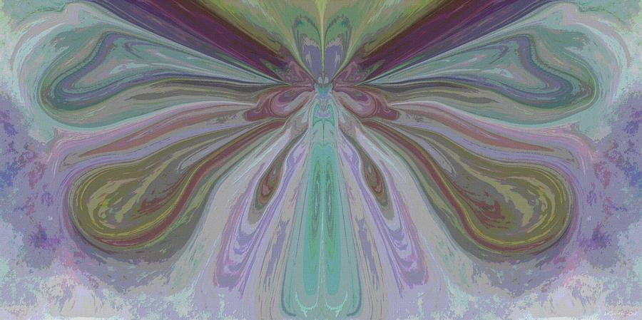 Butterfly Painting - Beauty Of The Butterfly 2 - Abstract 15 by Lynda K Cole-Smith
