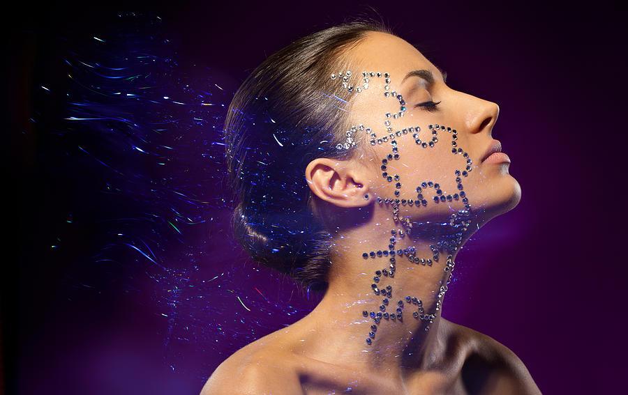 One Photograph - Beauty Puzzles by Pavlo Kolotenko