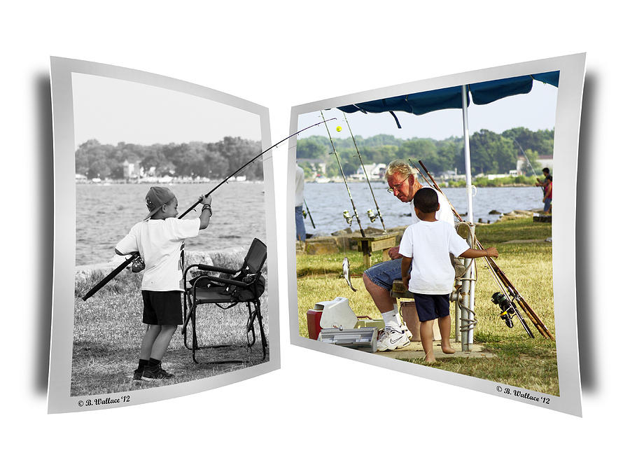 2d Photograph - Becoming A Happier Day by Brian Wallace