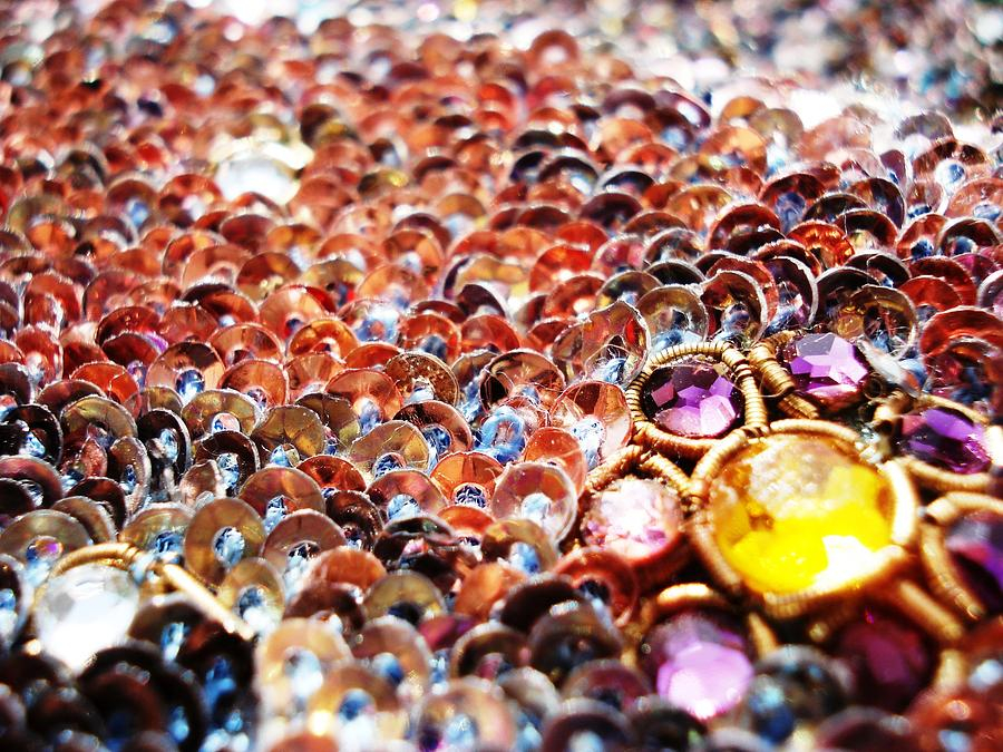 Blossoming Photograph - Bed Of Sequins by Sumit Mehndiratta