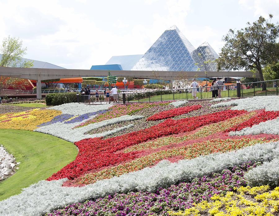 Epcot Photograph - Beds3666 12 by Charles  Ridgway