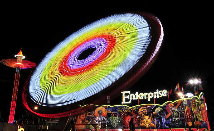 Enterprise Photograph - Beem Me Up Scotty by David Lee Thompson