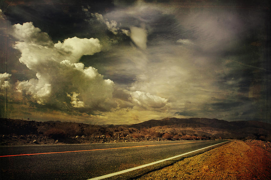 Clouds Photograph - Been Down This Road Before by Laurie Search