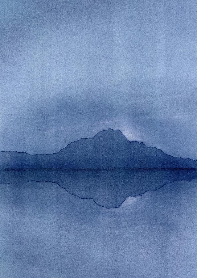 Landscape Painting - Before The Moonrise by Hakon Soreide