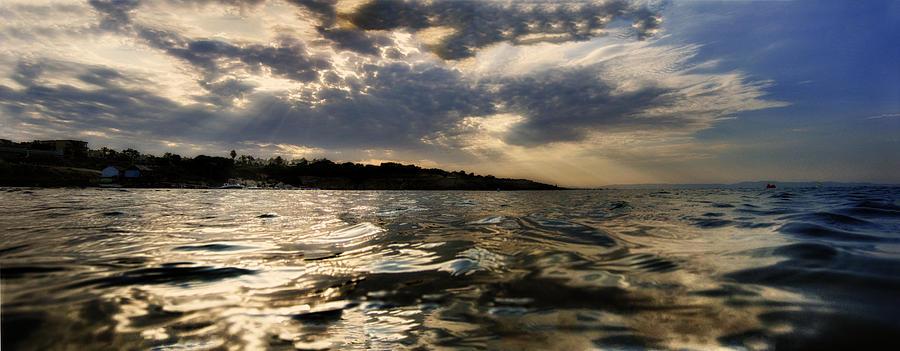 Background Photograph - Beginning Of Darkness  by Stelios Kleanthous