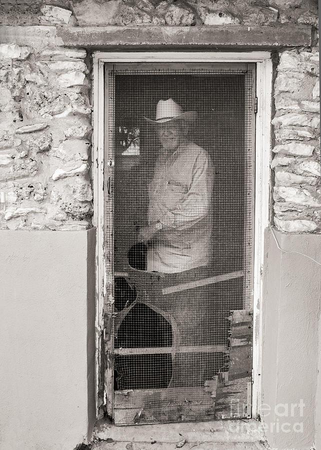 Old Screen Door : Behind the old screen door photograph by sherry davis