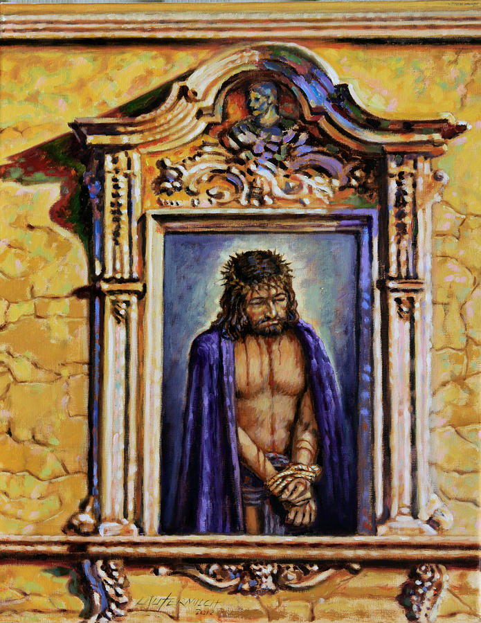Christ Painting - Behold Your King by John Lautermilch