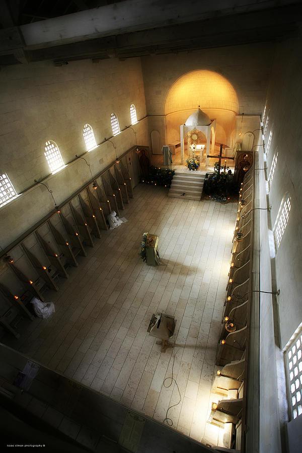 Monastery And Churches Photograph - Beit Jamal Monastery 3 by Isaac Silman