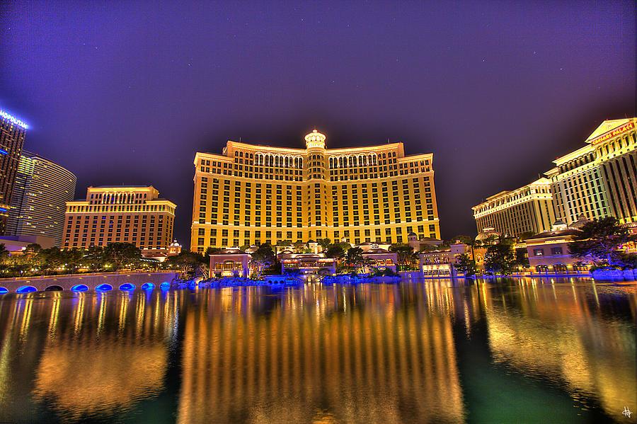 Port Huron Photograph - Belagio Las Vegas by Nicholas  Grunas