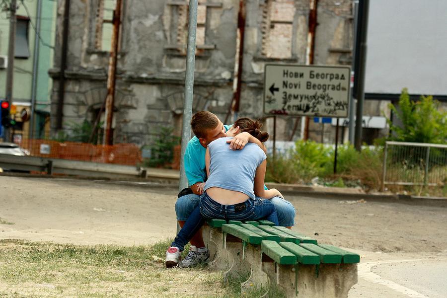 Belgrade Photograph - Belgrade Lovers by Frederic Vigne